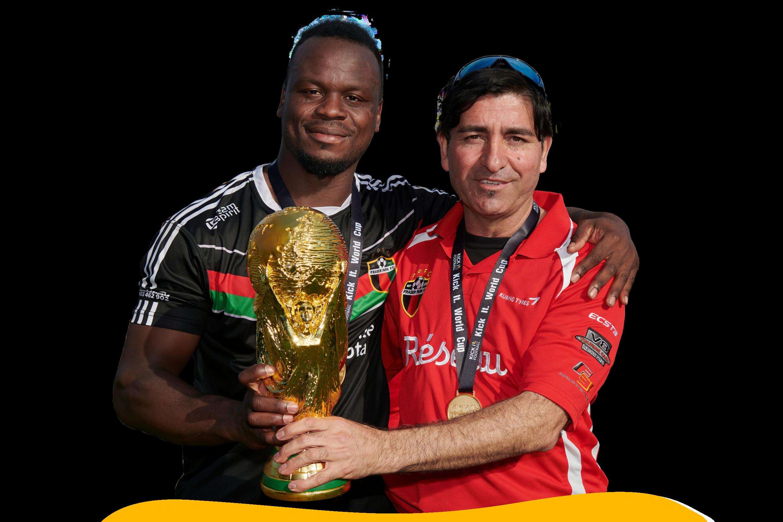 World cup Kick it